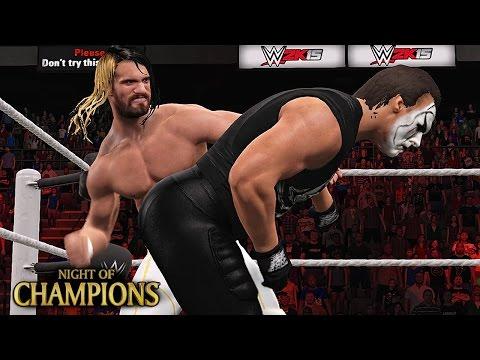 Sting Vs Seth Rollins WWE Night Of Champions