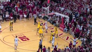 Michigan at Indiana Highlights