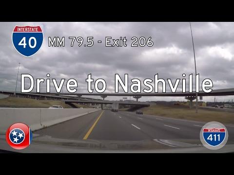 Interstate 40 - Mile 79 - Mile 206 - Tennessee | Drive America's Highways 🚙