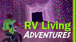 RV LIVING | ESCAPING SNOW | MEGA CAVERN LOUISVILLE KY | NIAGARA OF THE SOUTH CUMBERLAND FALLS EP95 Video