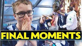TI7 Champions Team Liquid FINAL MOMENTS on Main Stage [LIVE] - Dota 2