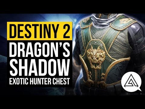 DESTINY 2 | Dragon's Shadow Exotic Hunter Chest Gameplay & Overview