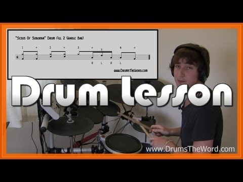 ★ Jesus Of Suburbia (Green Day) ★ (Part 1) Drum Lesson | How To Play Song (Tre Cool)