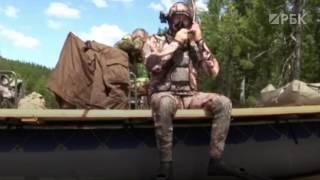 Кадры подводной охоты Владимира Путина в Туве