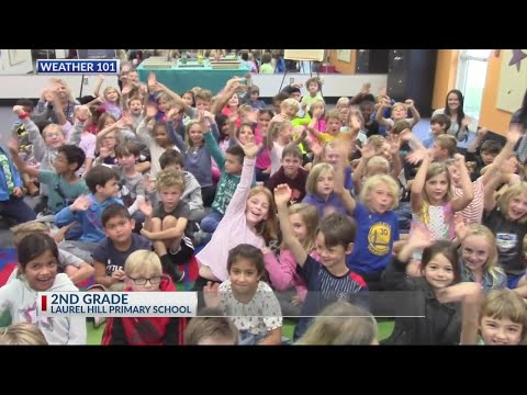 Rob Fowler visits the 2nd graders at Laurel Hill Primary on 11.1.18