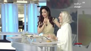 Mouna Abbassy in sabah el kheir ya arab mbc