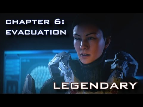 Halo 5: Guardians - Evacuation (Mission 6) LEGENDARY DIFFICULTY