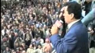 MERHUM MUHSİN YAZICIOĞLU-ERZURUM MİTİNGİ-1998-3