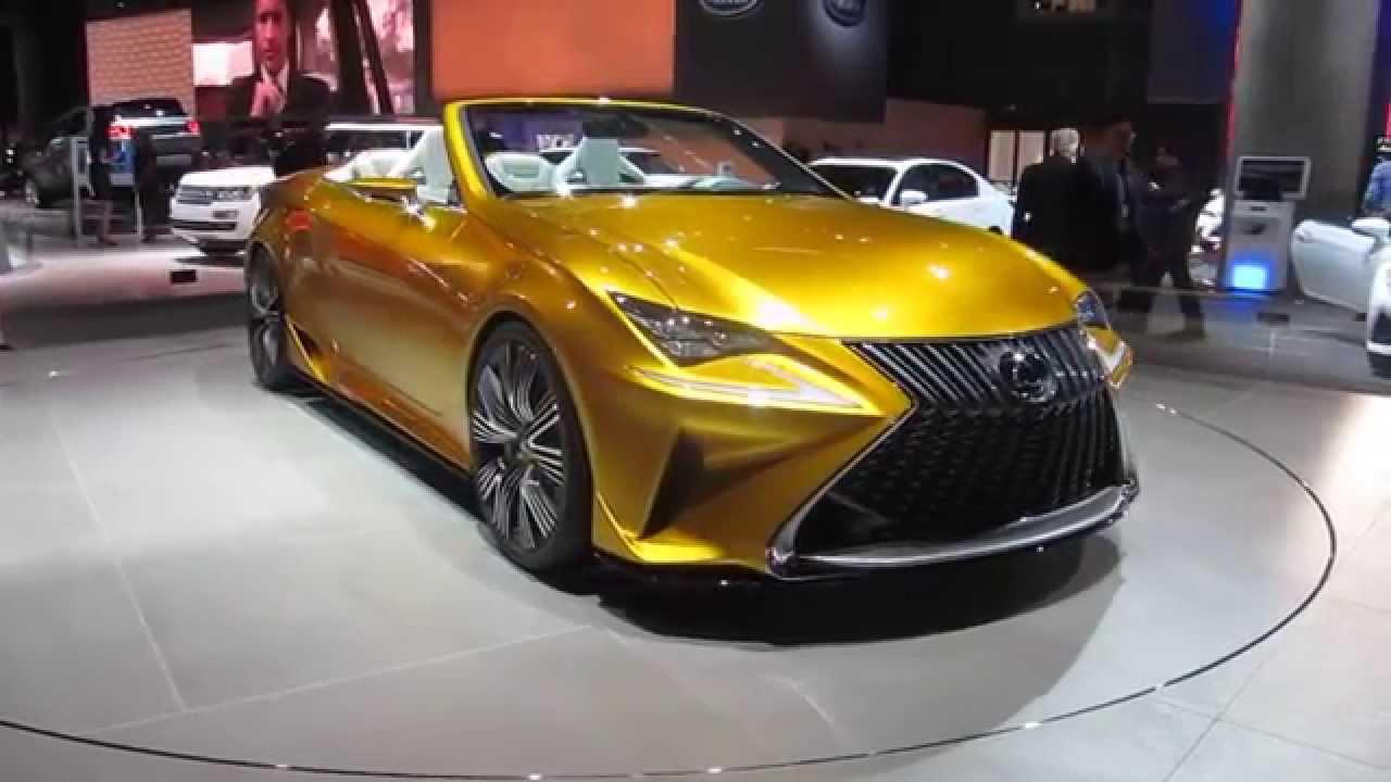 2015 LEXUS LF-C2 CONCEPT CAR - WORLD PREMIERE at LA Auto Show 2014 ...