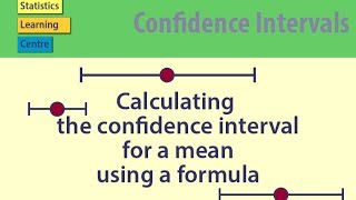 Calculating the Confidence interval for a mean using a formula - statistics help