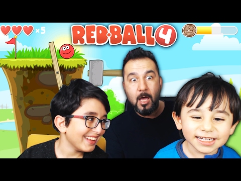 KIRMIZI TOP! | RED BALL 4