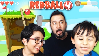 KIRMIZI TOP! | RED BALL 4