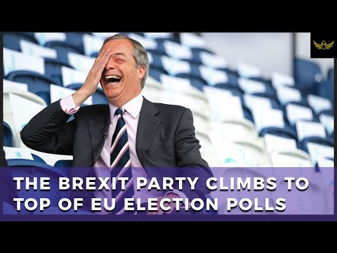EU earthquake. The Brexit Party polls higher than Labour and Tories, COMBINED!