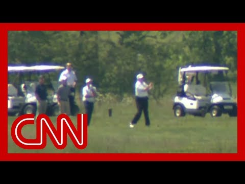 Trump spends weekend golfing amid coronavirus pandemic