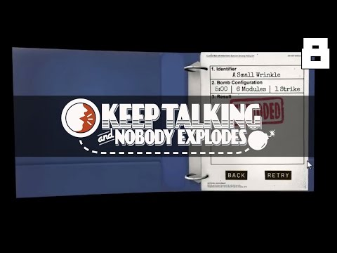 Let's Play Keep Talking and Nobody Explodes - Part 8 - REUPLOAD