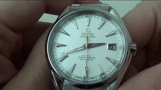 Омега Годинник Seamaster Аква Терра Хронометр (231.10.42.21.02.001) - Огляд
