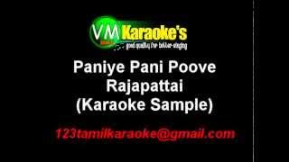 Rajapattai Karaoke Paniye Pani Poove