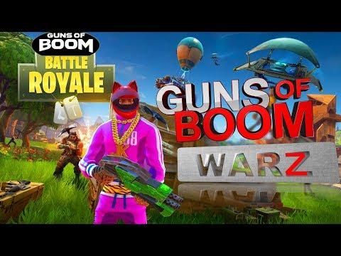 GUNS of BOOM BATTLE ROYALE как в PUPG FORTNITE Сall of Duty mobile королевская битва на АНДРОИД