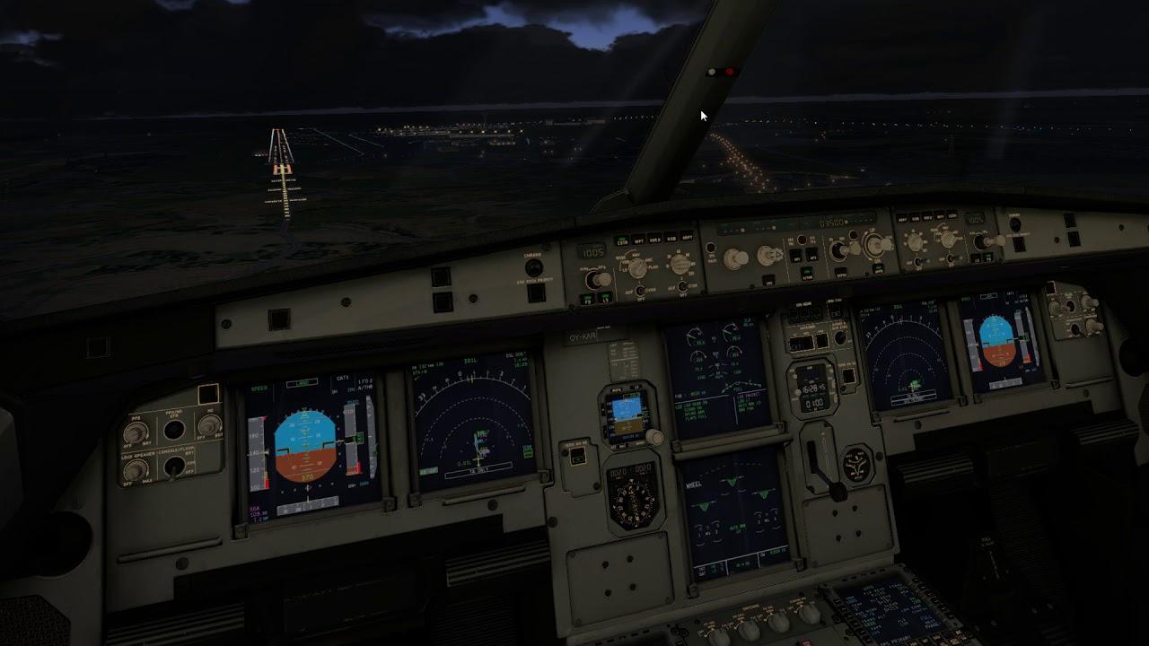Landing the FF A320 Ultimate at Stockholm Arlanda