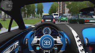 City Car Driving - Bugatti Chiron | Street Racing