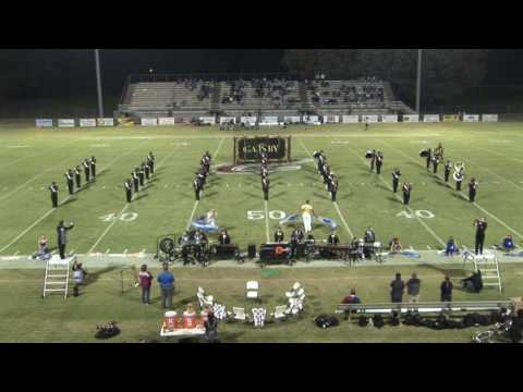 Crockett County High School Marching Band September 30, 2016