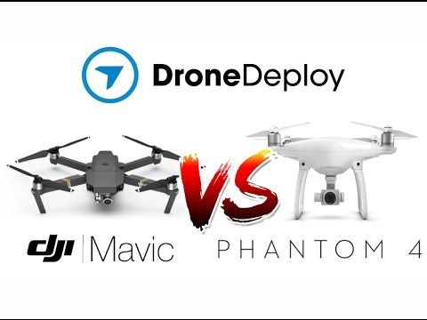 Drone Deploy Mapping Comparison - DJI Mavic Vs Phantom 4 at 80 metres