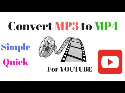Convert MP3 To MP4 Online
