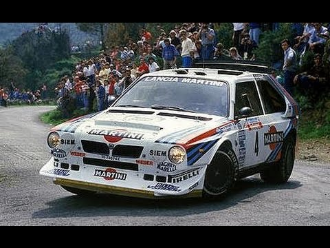 group b beast lancia delta s4 tribute with pure sound. Black Bedroom Furniture Sets. Home Design Ideas