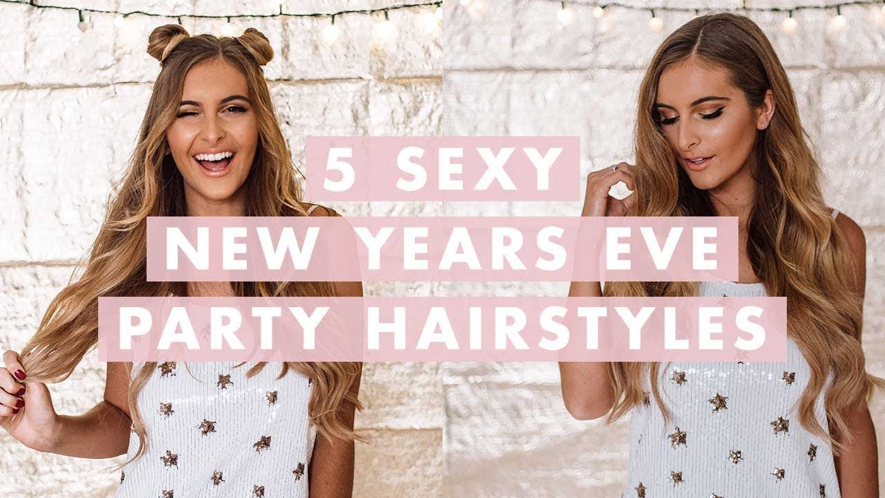 Party Hairstyles Sexy New Year\u0027s Eve hairstyles \u2013 Luxy Hair