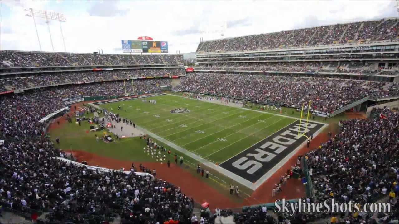 Hd Time Lapse Oakland Coliseum Raiders Youtube