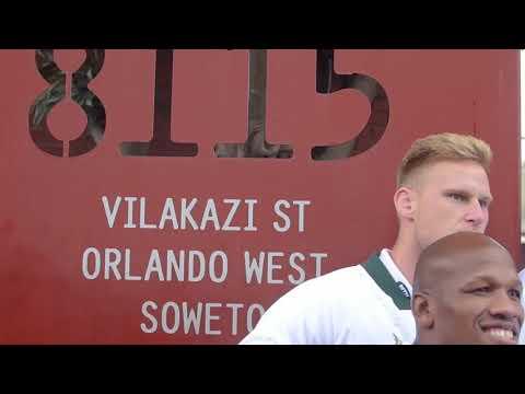 Springboks in Soweto - #LoveRugby