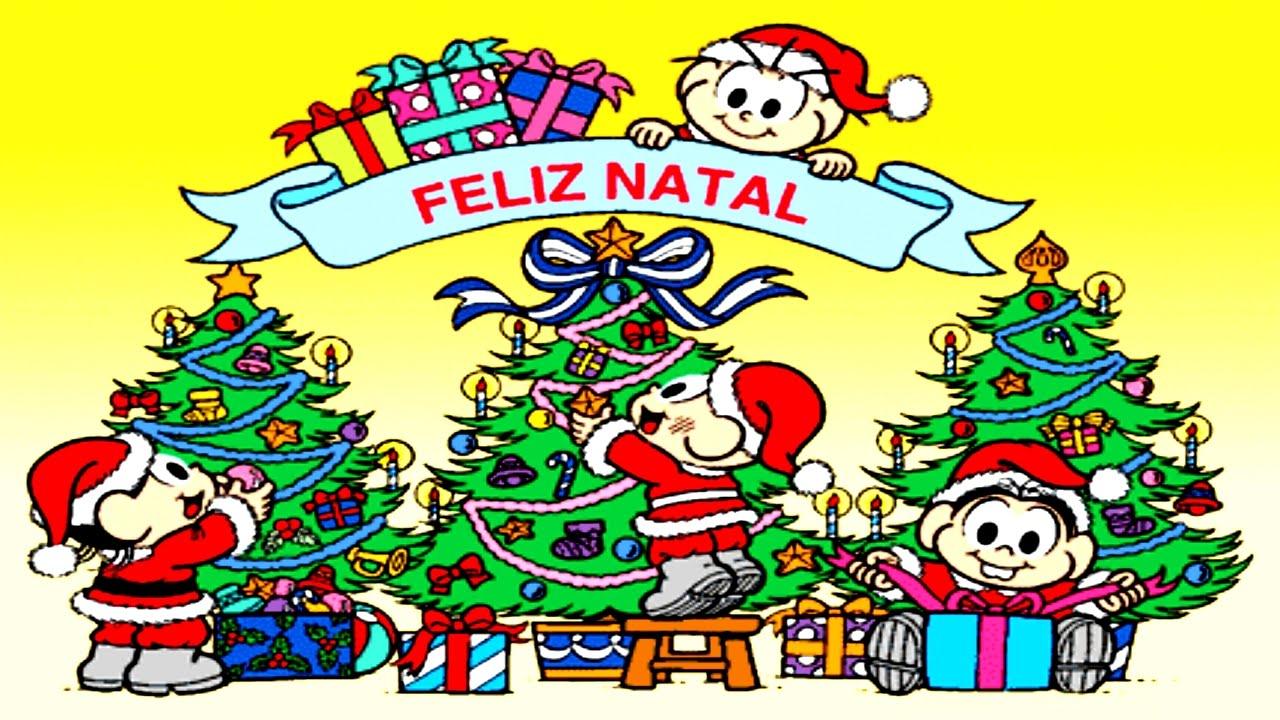 Turma Da Monica Completo Desenhos De Natal 2016 Monica E Cebolinha