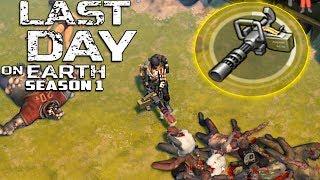 АК, ПУЛЕМЁТ И ДРОБОВИК - СЕЗОН 1 - Last Day On Earth Survival #1