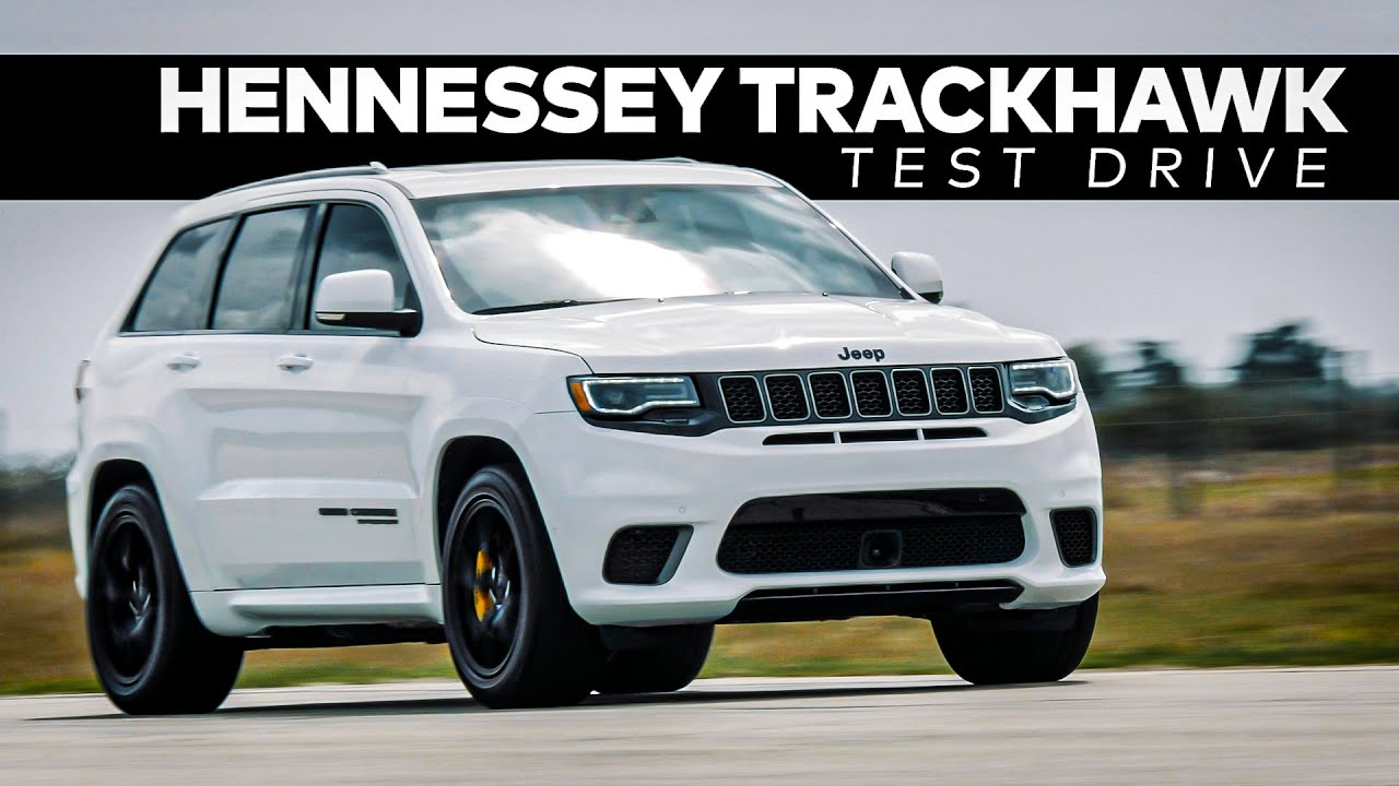HPE900 Trackhawk by Hennessey // TEST DRIVE!