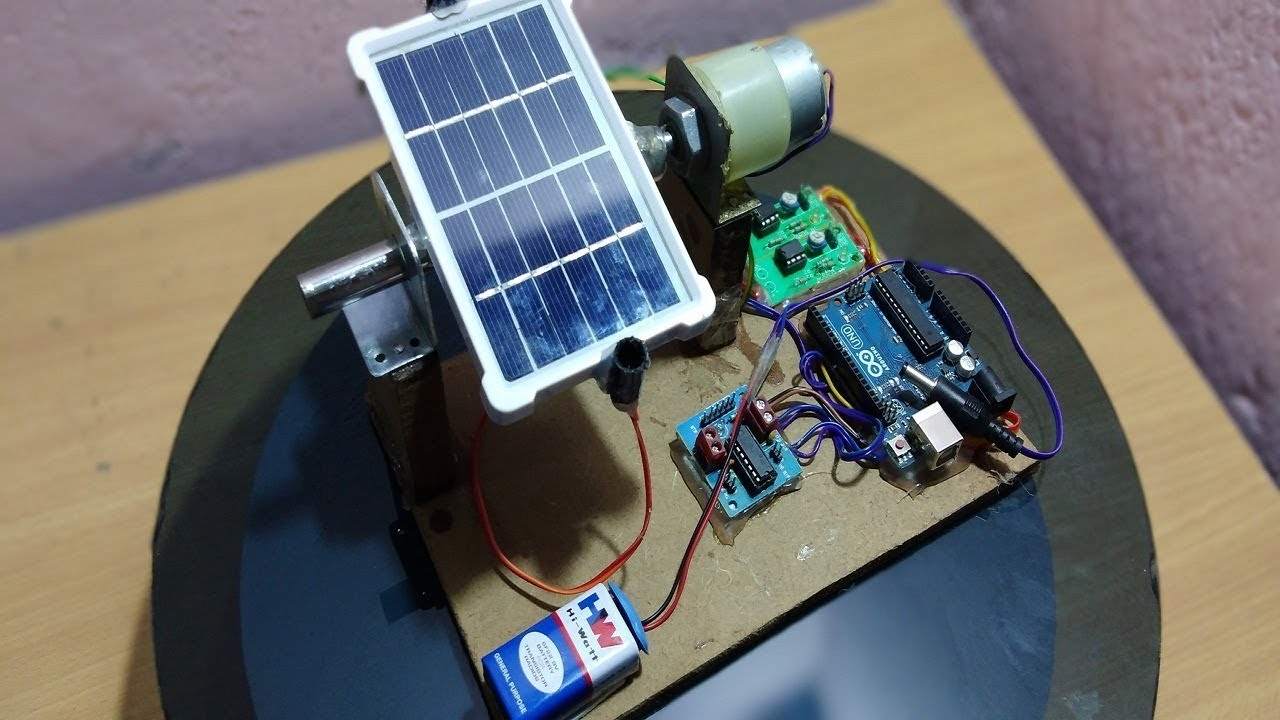 [DIY] How To Make Single Axis Solar Tracker Using Arduino [part2]