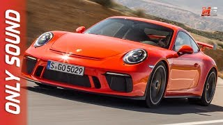 New porsche 911 GT3 guards red 2017 - first test drive only sound