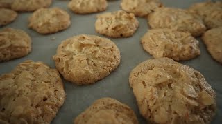 3 Ingredient Almond Cookies (Flourless) - Episode 481 - Baking with Eda