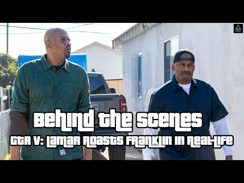 Lamar Roasts Franklin in Real Life: Behind the Scenes
