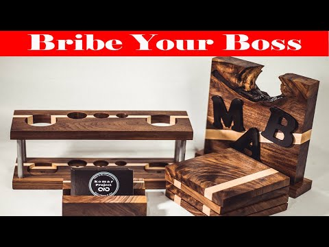 Bribe Your Boss With a Hand Crafter Christmas Gift | Woodworking Project