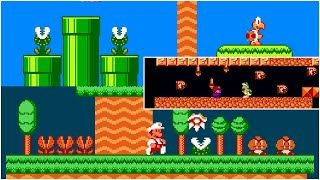 Reign of the Koopa - Save the King from Larry Koopa! | Awfully Pretty Super Mario Bros. ROM Hack
