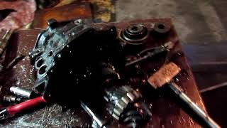 Audi A6 C4 Ta'mirlash OLTI-tezlik box. Nihoyat !