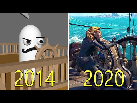 Evolution of Sea of Thieves 2014-2020