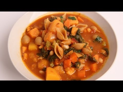 Winter Minestrone Soup Recipe – Laura Vitale – Laura in the Kitchen Episode 332