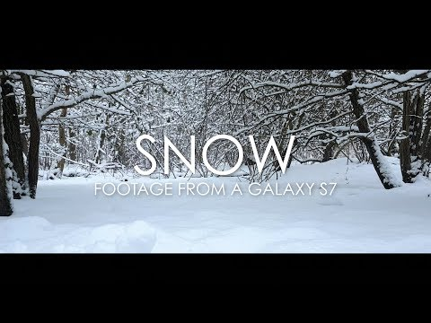 Snow in the UK, let me film a sequence!