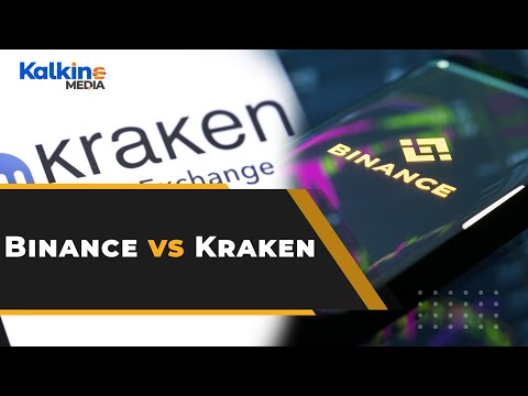Crypto exchanges Binance vs Kraken: Where would you like to trade?