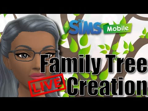 The Sims Mobile Legacy Family Tree Creation - The Black Family