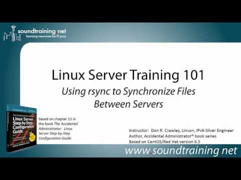 How to Use rsync to Synchronize Files Between Servers: Linux Server Training 101