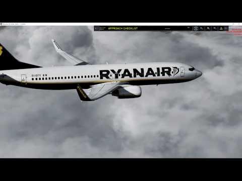 Ryanair EIDW/EGSS using AS2016/ASCA SP1 Beta Part 2