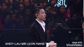 """ANDY LAU with UCOK HANS """" Live in Consert """" XIE XIE NI DE AI - 謝謝你的愛"""