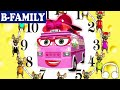 [b-family]  Hickory Dickory Dock & How To Read The Time On A Clock | Muffin Songs video